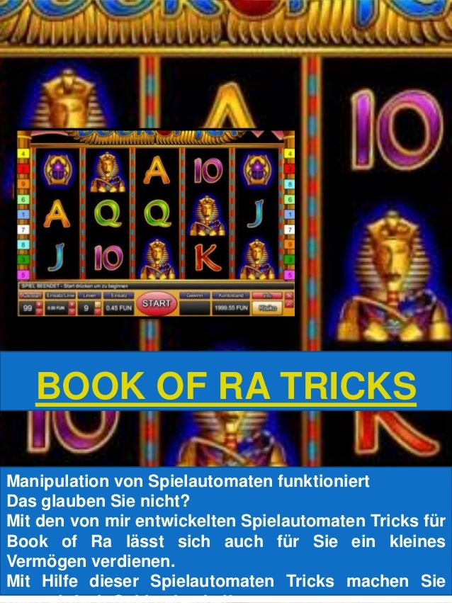 Spielautomaten Tricks Book of - 53908