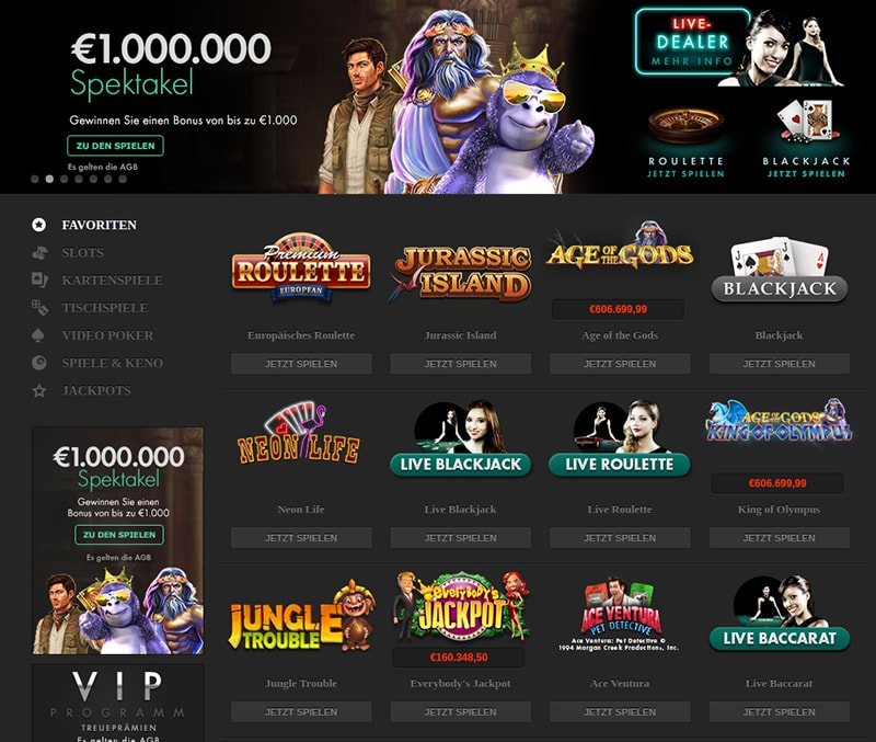 Spielbanken Internet site - 3029