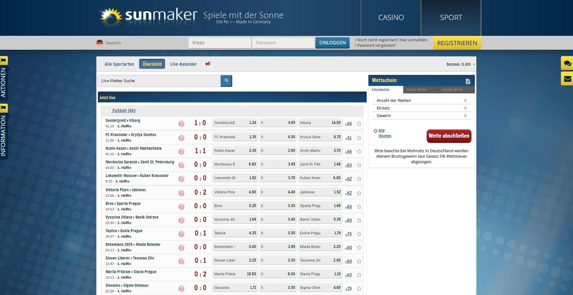Sportwetten Bierhaus - 22725