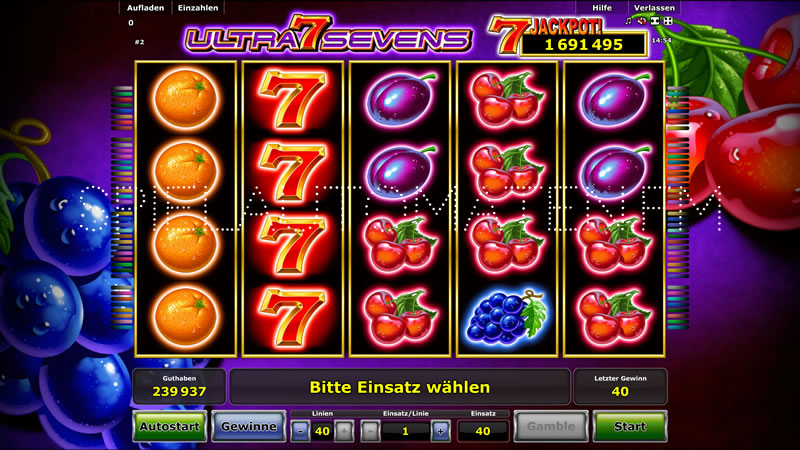 Ultra Sevens kostenlos - 39528