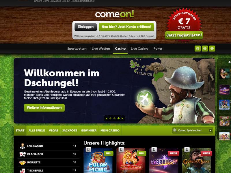 Werbecode Salzburg ComeOn - 73719